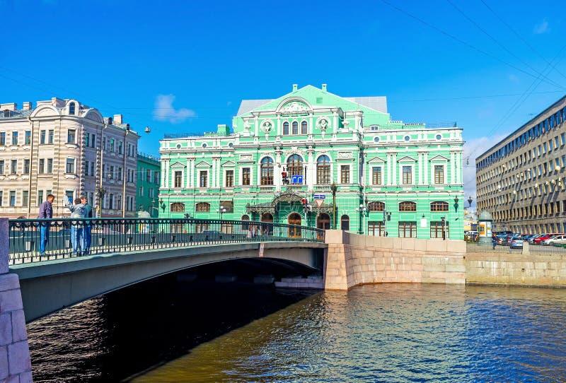 Le grand théâtre de drame de Tovstonogov images stock
