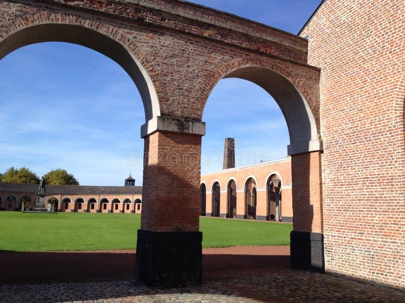 Le Grande Hornu, Bélgica foto de stock royalty free
