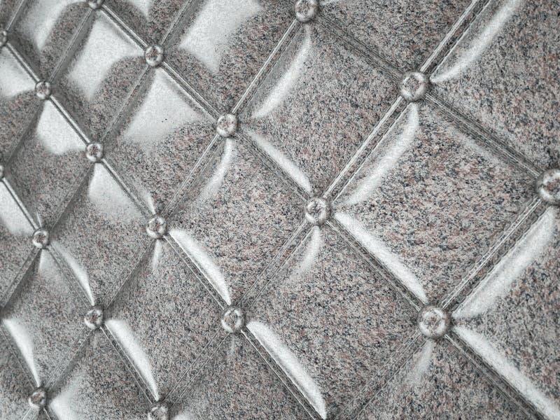 Le granit a piqu? la texture ou le fond avec des bosses illustration libre de droits