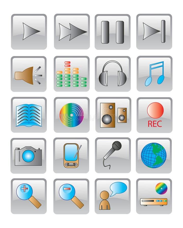 Le graphisme de Web. image de vecteur. illustration libre de droits