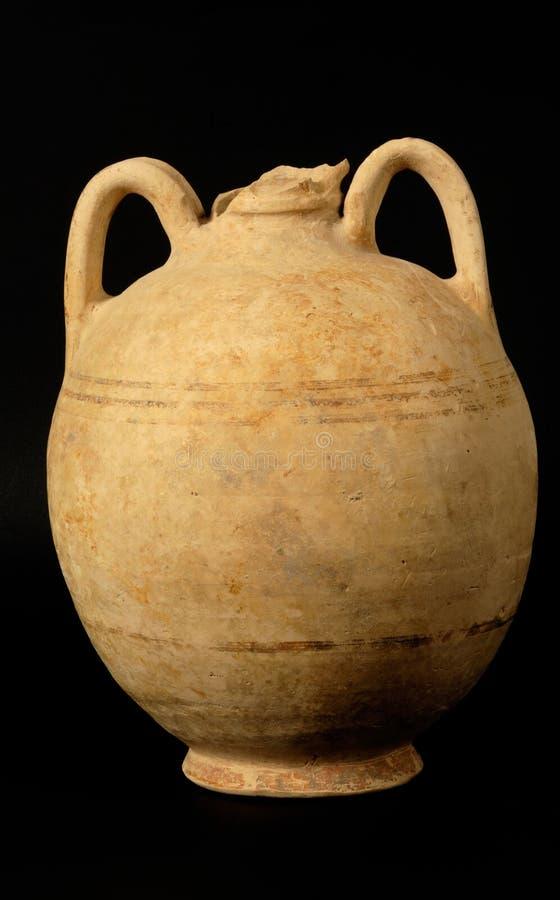Le grec ancien et vase romain images stock