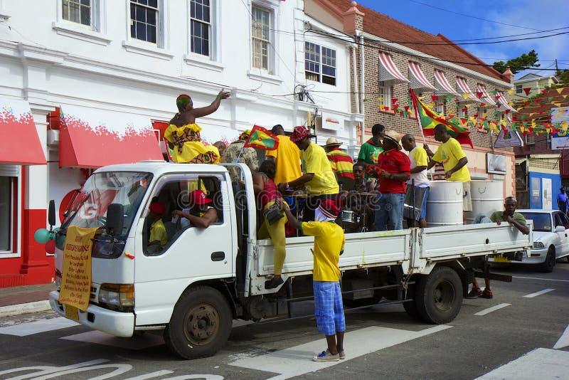 Le Grenada, Jour de la Déclaration d'Indépendance image libre de droits