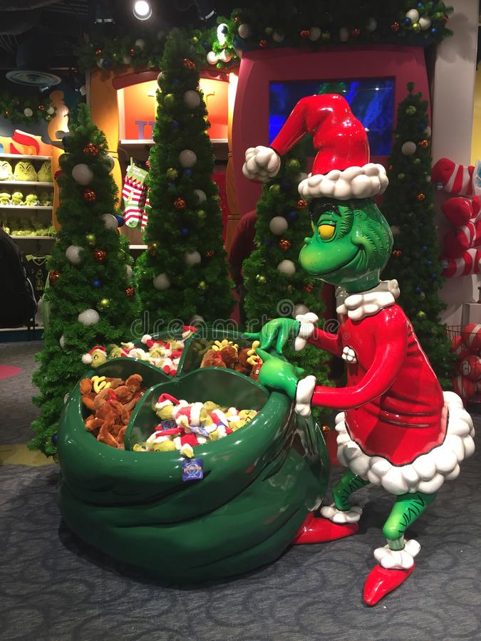 Le Grinch qui a volé Noël photos libres de droits