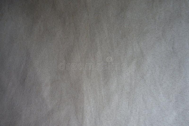 Le gris chaud pâle a fait une sieste tissu d'en haut images stock