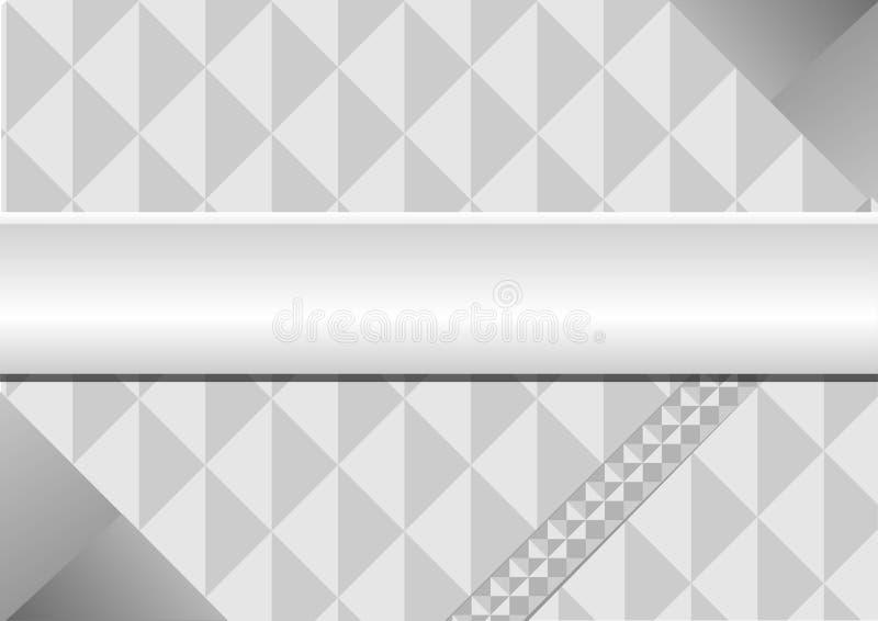 Le gris de triangle pour le fond illustration stock