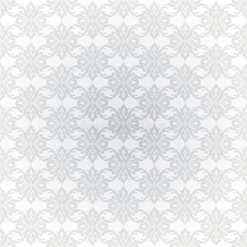 Le gris lient le papier peint illustration stock