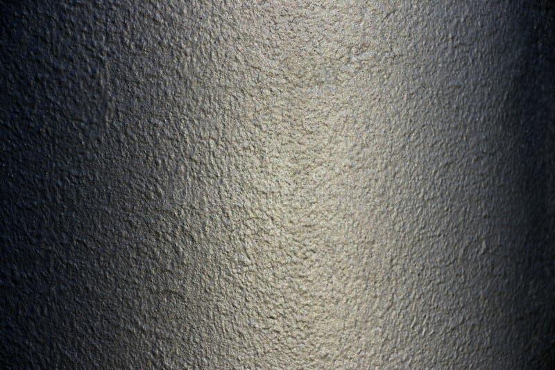Le gris a peint la texture métallique du fond peint photos libres de droits