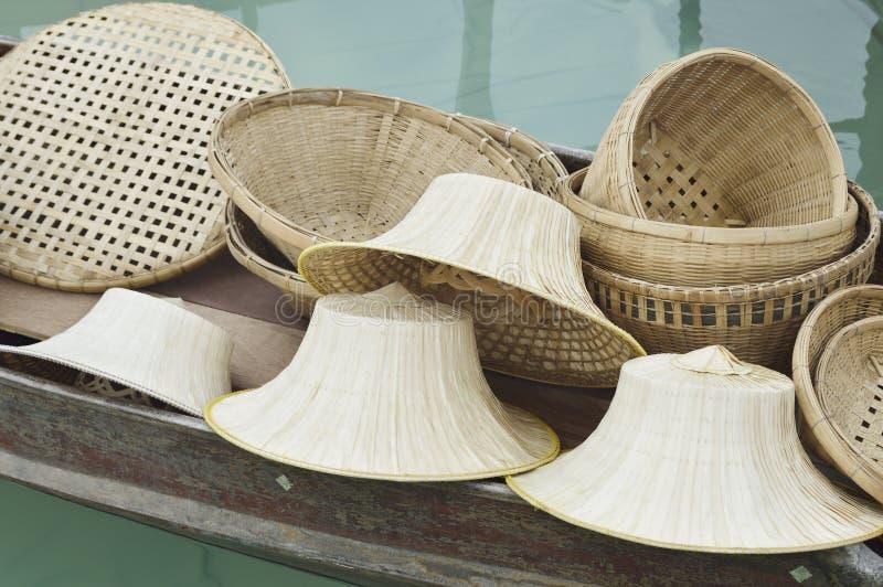 Le groupe de thaïlandais handcraft images libres de droits