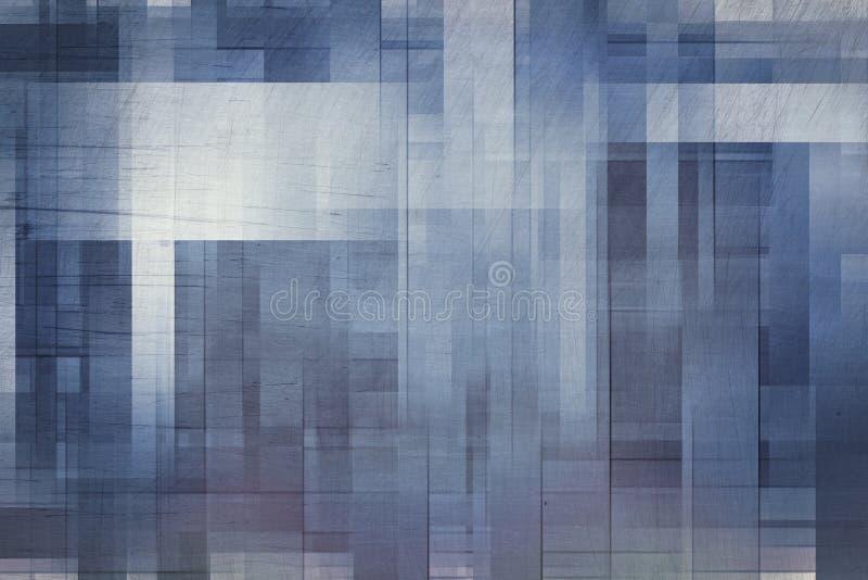 Le grunge abstrait raye des milieux illustration stock