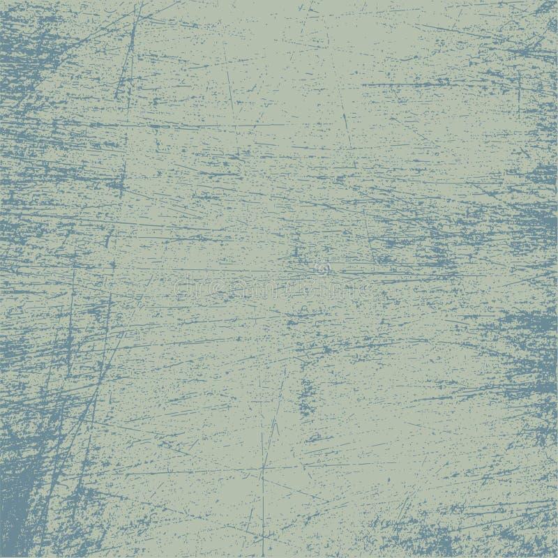 Le grunge donne à la couleur une consistance rugueuse de denim illustration de vecteur