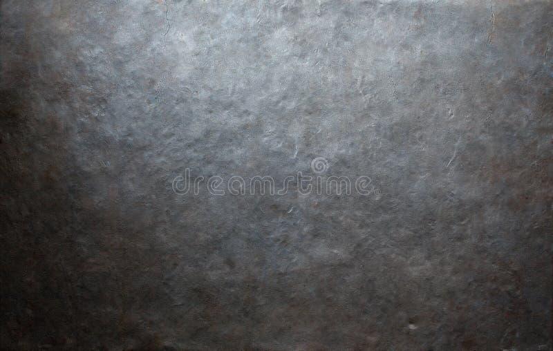 Le grunge a forgé le fond ou la texture en métal photos stock