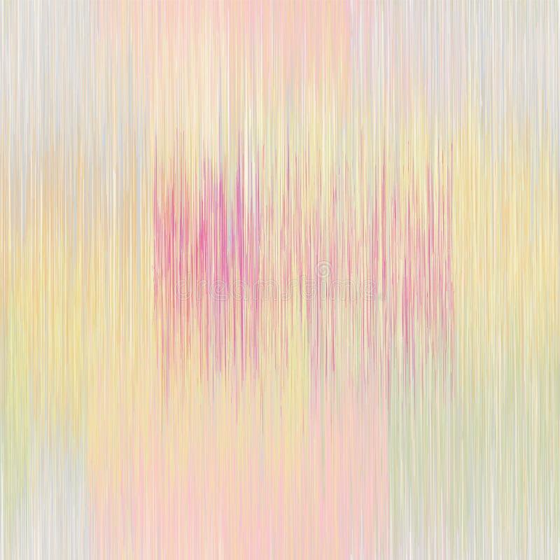 Le grunge sans couture a barré et a souillé le modèle coloré dans des couleurs en pastel illustration stock