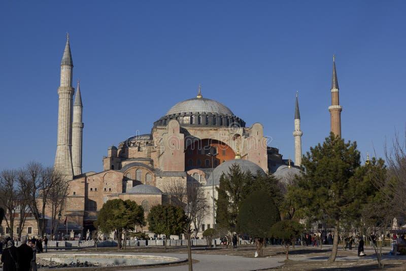 Le Hagia Sophia photo stock