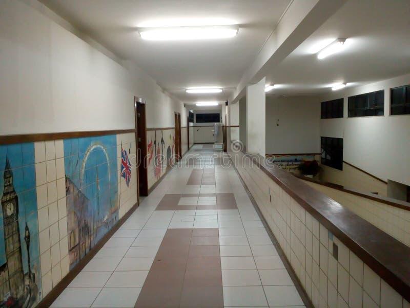 Le Hall de la terreur foncée photographie stock libre de droits