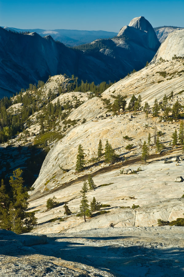Le haut pays de Yosemite photo stock