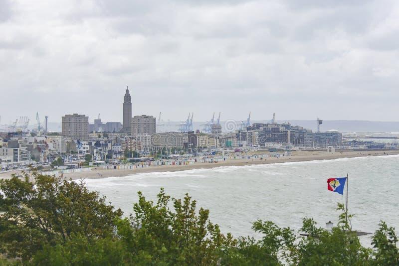 Le Havre, Normandie, Frankreich lizenzfreie stockfotos