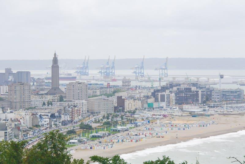 Le Havre, Normandie, Frankreich stockfotografie