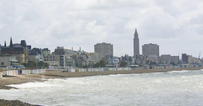 Le Havre, Normandy, Frankrijk royalty-vrije stock afbeeldingen