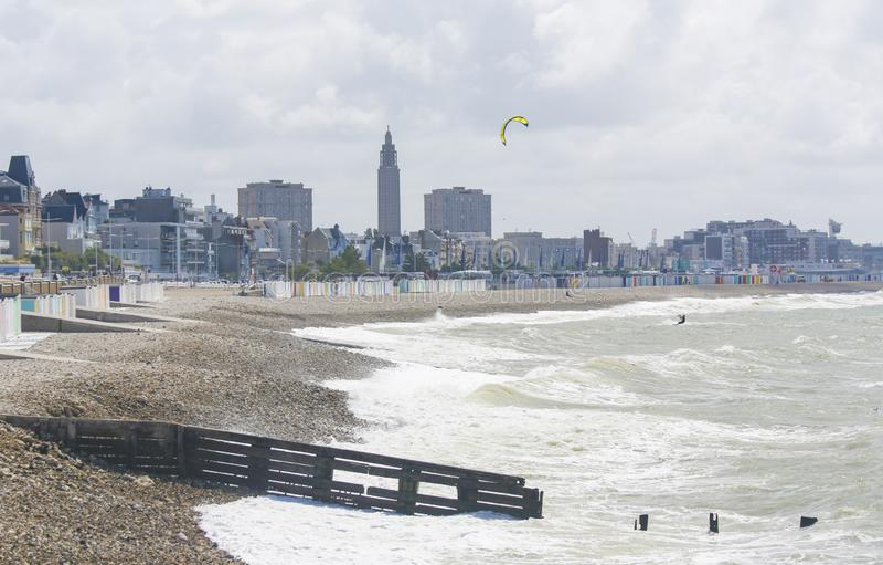 Le Havre, Normandy, Frankrijk stock foto