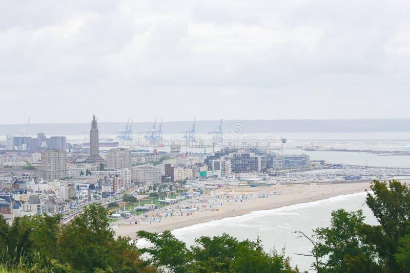 Le Havre, Normandy, Frankrijk royalty-vrije stock foto's