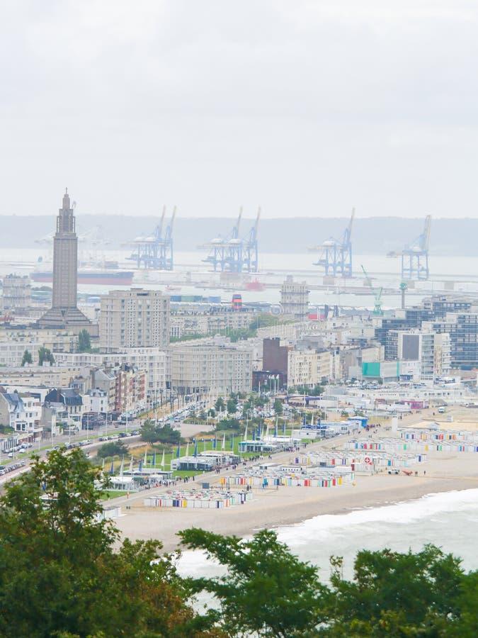 Le Havre, Normandy, Frankrijk royalty-vrije stock foto