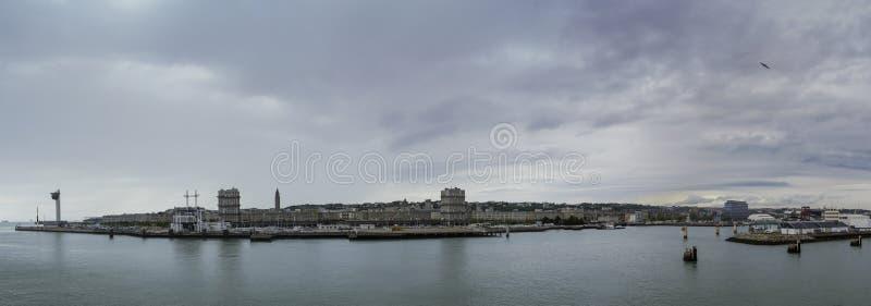 Le Havre Panorama lizenzfreies stockfoto