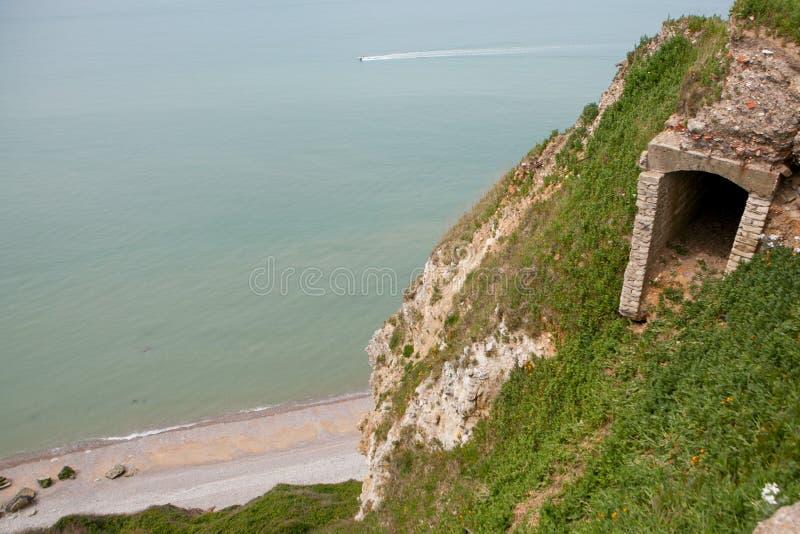 Le Havre wybrzeże obrazy royalty free