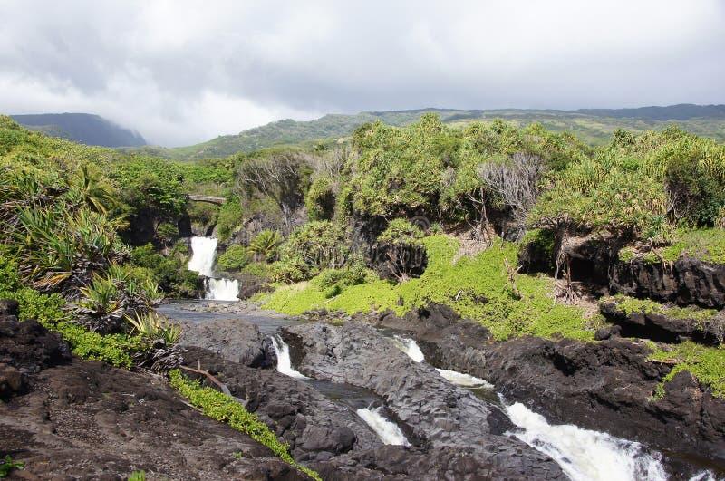 Le Hawai, Stati Uniti d'America fotografia stock libera da diritti