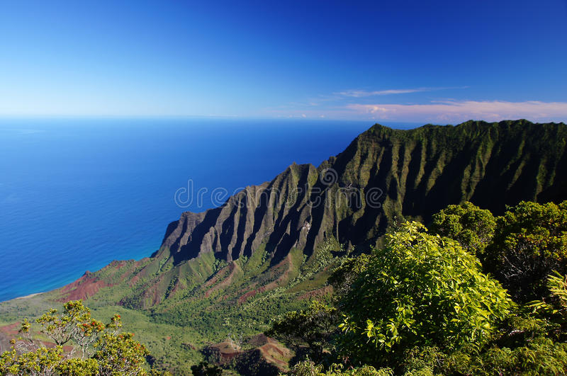 Le Hawai, U.S.A. immagini stock libere da diritti