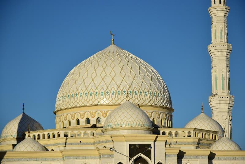 Le Haziret Sultan Mosque à Astana/Kazakhstan photos stock