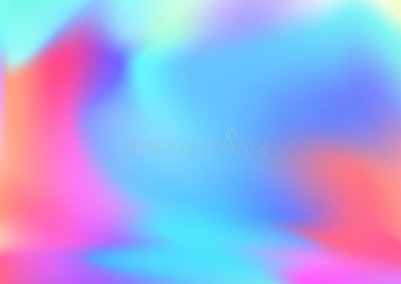Le hippie mou tramé à la mode rouge et bleu intelligent dénomment de retour illustration stock