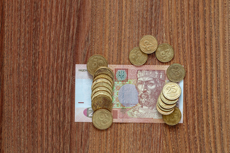 Download Le Hryvnia Ukrainien De Devise Photo stock - Image du devise, banking: 77159742