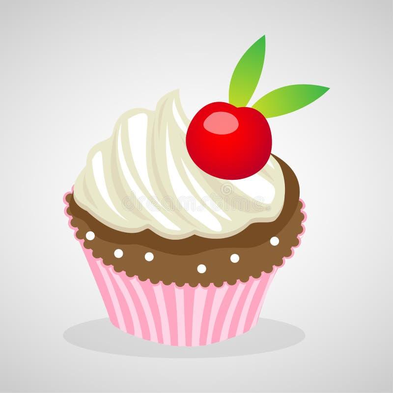 Le icone del dolce della tazza grandi per c'è ne usano Vettore eps10 illustrazione di stock