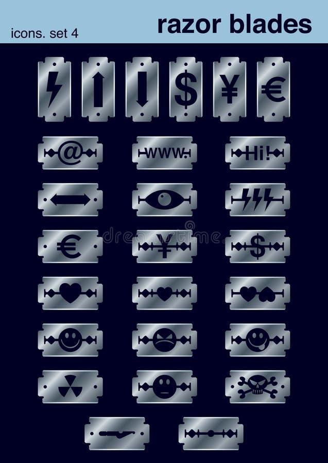 Le icone hanno impostato 4 illustrazione di stock