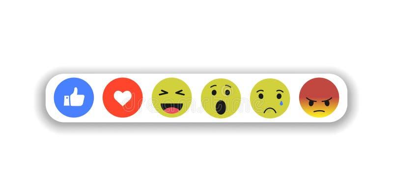 Le icone sorridente sottraggono l'insieme stile piano EPS10 di simboli di vettore royalty illustrazione gratis