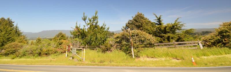 Le impressioni dalla località di soggiorno di Pointe del faro dirigono il nessun 1, California U.S.A. fotografie stock libere da diritti