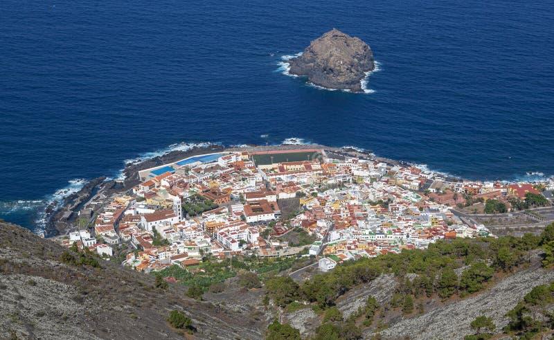 Le isole Canarie di Tenerife - di Garachico immagine stock