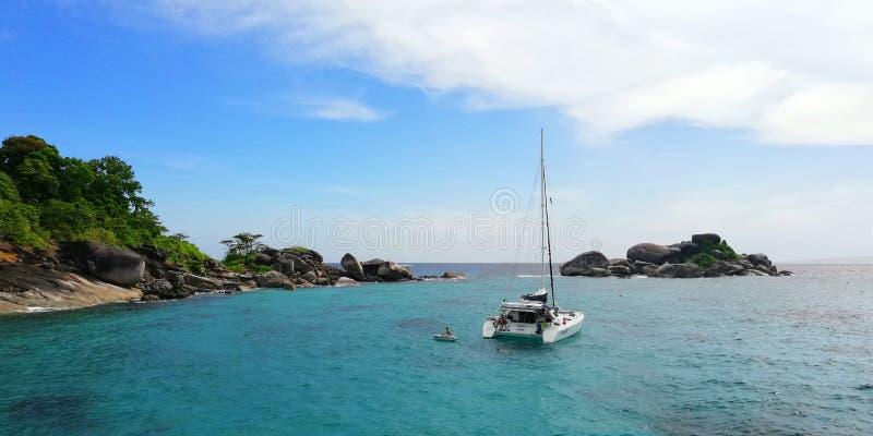 Le isole di Similan, Ko Miang fotografia stock