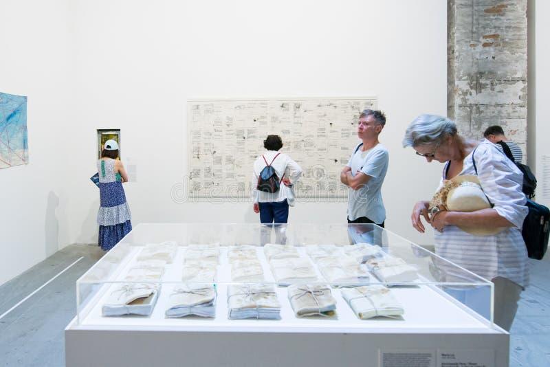 Le ` Italie de Viva Arte Viva de ` de Venezia de Di de Biennale photos libres de droits