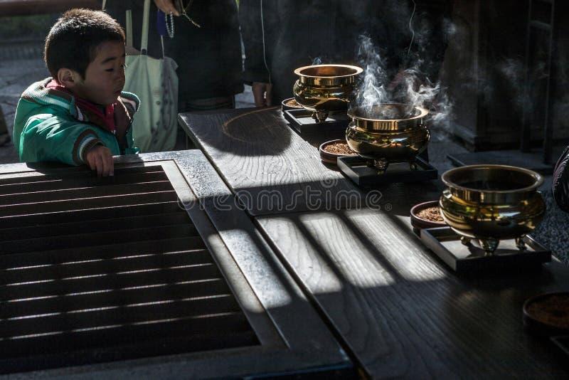Le Japon - Kyoto - le temple de daigo-JI images stock