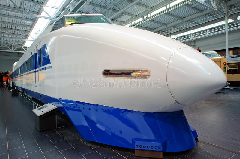 Le Japon Shinkansen 100 séries photos libres de droits
