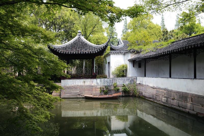 Le jardin de l'administrateur humble, Suzhou, Chine photo libre de droits