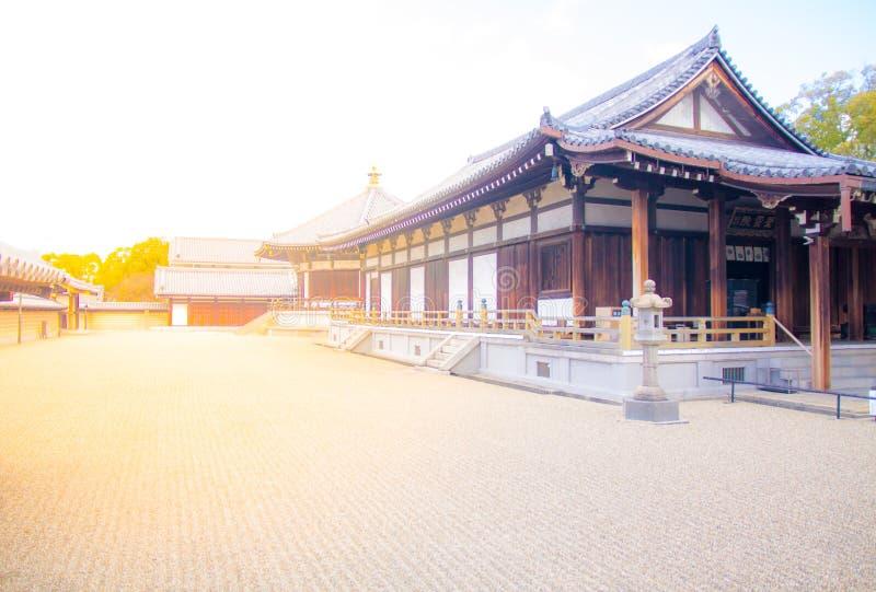 Le jardin de roche dans Katsuyama photographie stock