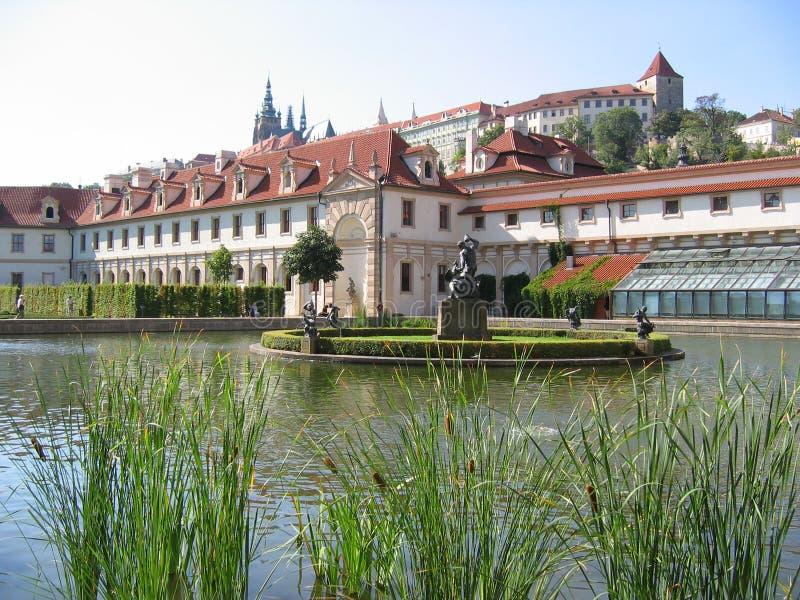 Le jardin de Wallenstein. Prague. images stock