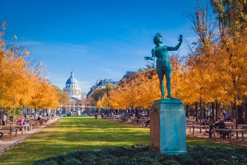 Le Jardin du Luxembourg royalty free stock photography