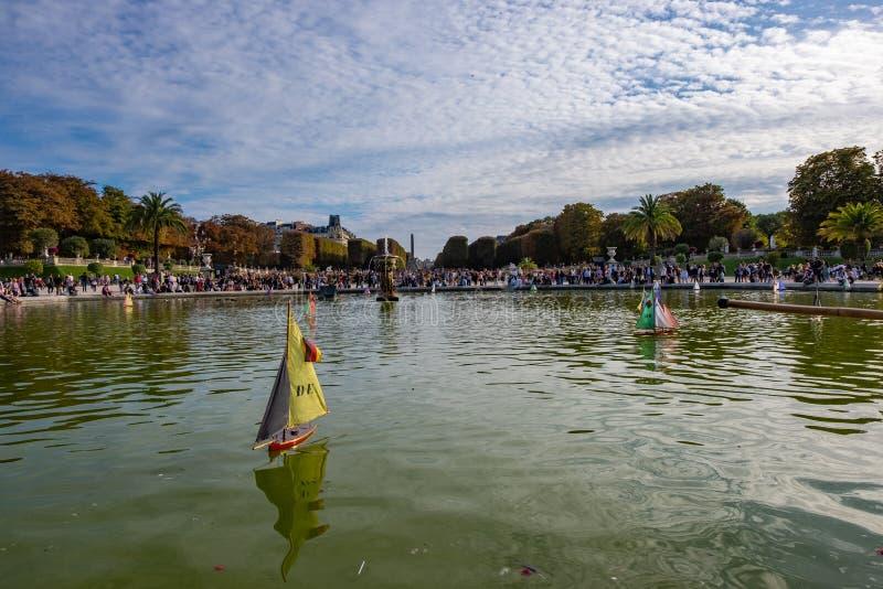 Le Jardin du Luxembourg w Paryżu, Francja obrazy stock