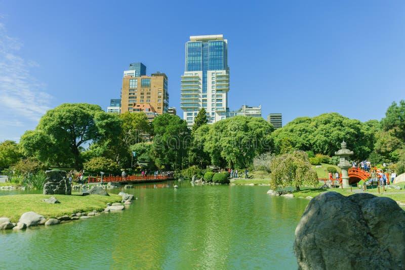 Le jardin japonais Jardin Japones de Buenos Aires est un jardin public à Buenos Aires, Argentine, 24 05 2019 photos stock