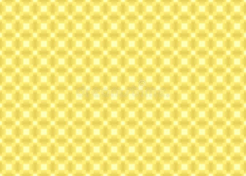 Le jaune a ajusté la texture illustration de vecteur