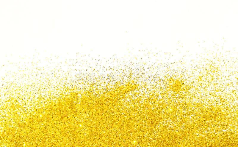 Le jaune scintille fond photographie stock libre de droits