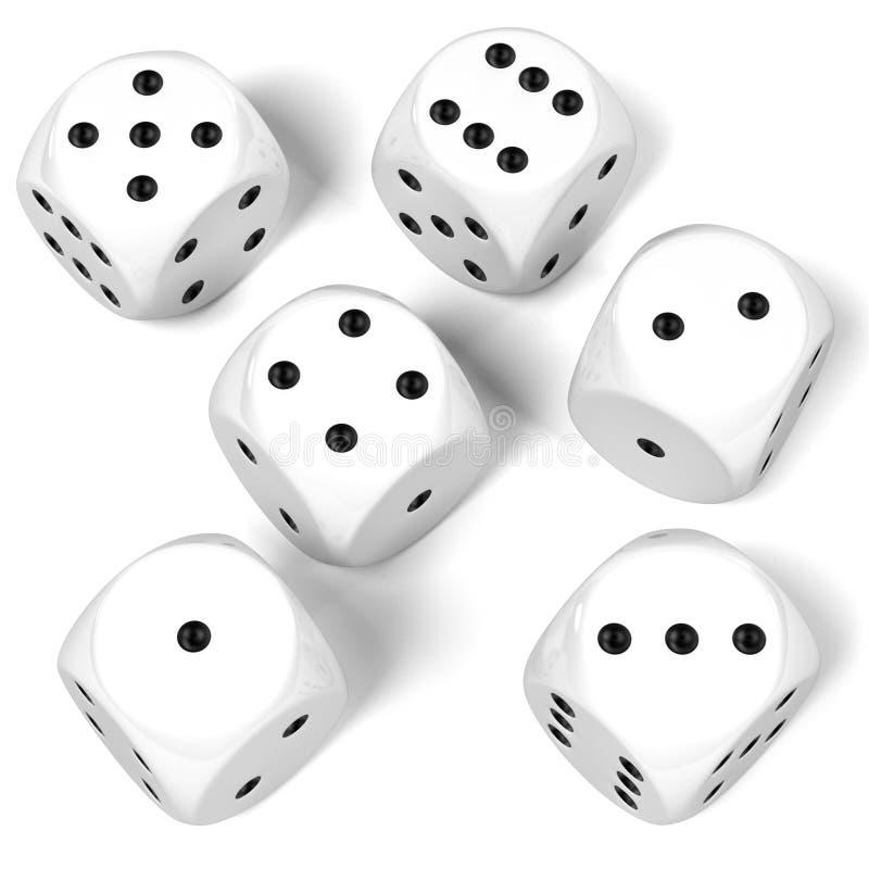Le jeu découpe illustration libre de droits